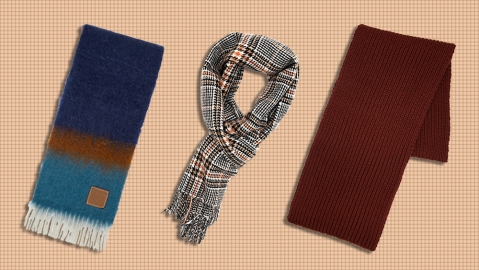 Scarves from Loewe, Joshua Ellis and Corgi