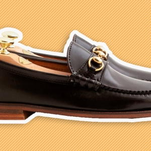Leffot & Rancourt's 'Ivy Bit' loafer in color 16 cordovan.
