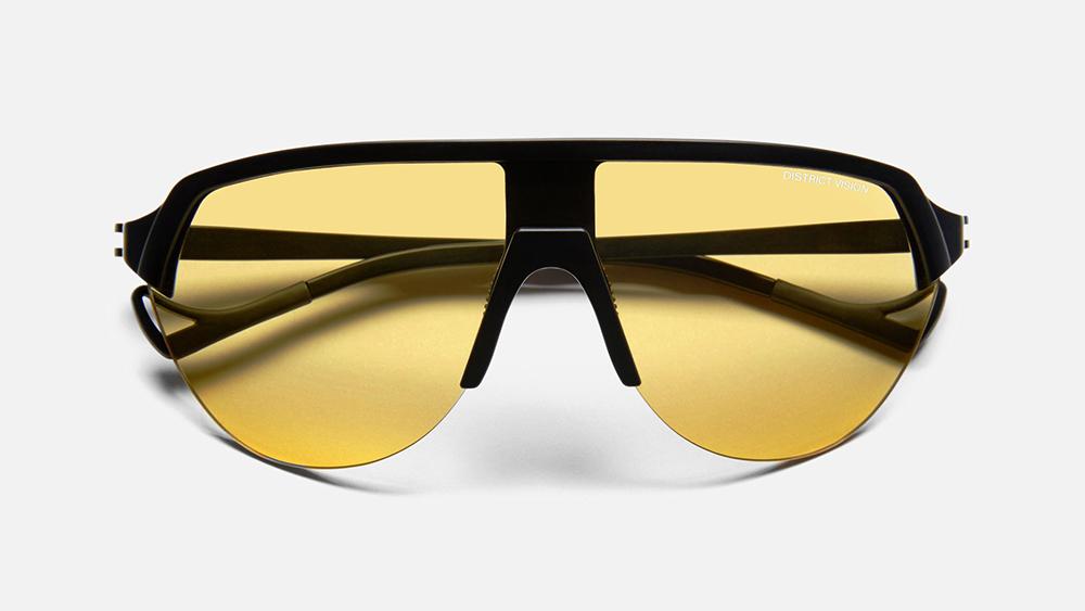 District Vision 'Nagata' Speed Blade Sunglasses