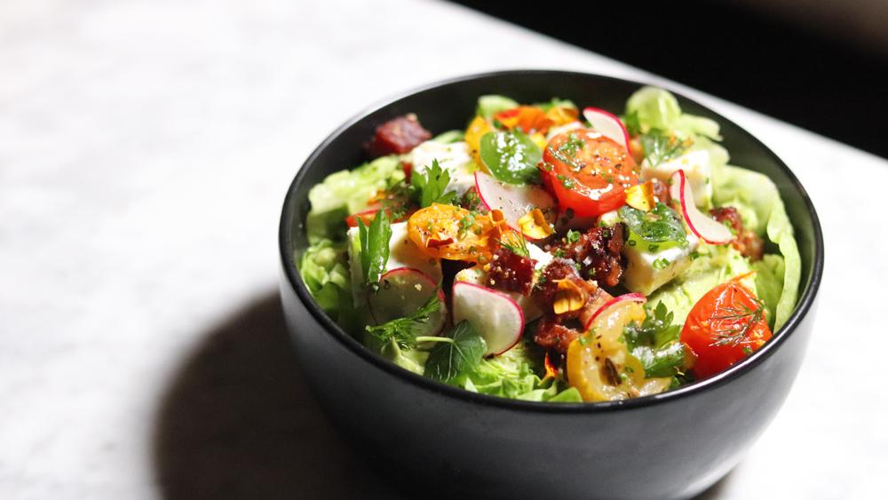 wedge salad finishing gourmet