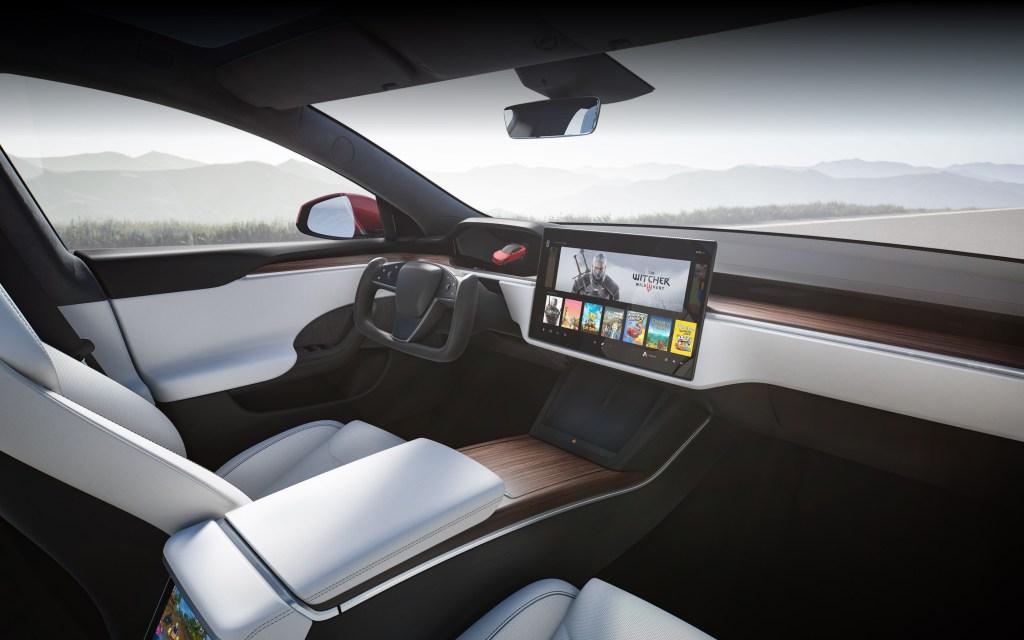 Inside the redesigned Tesla Model S