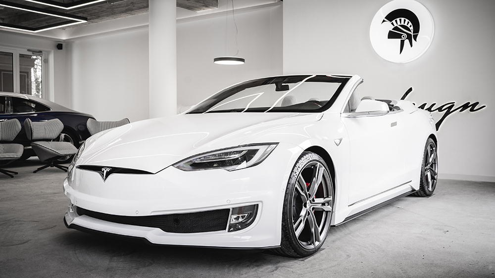 Ares Design Tesla Model S Convertible