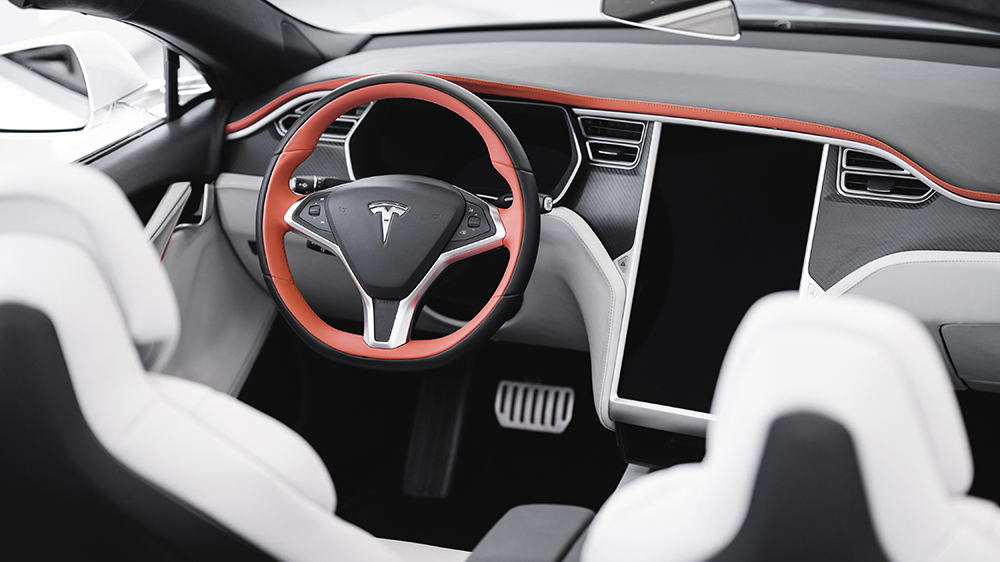 Inside Ares Design's Tesla Model S Convertible
