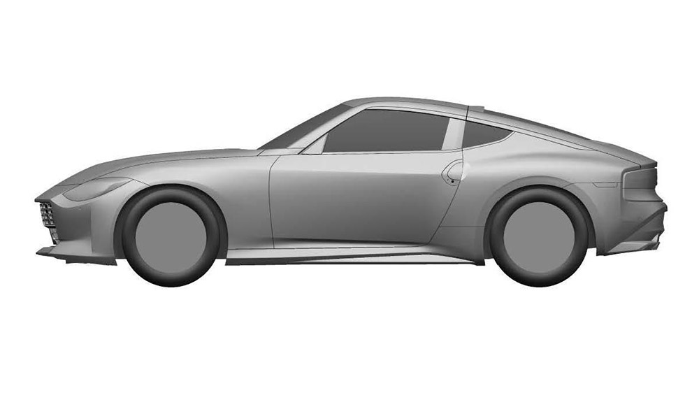 Renderings of the seventh-generation Nissan Z