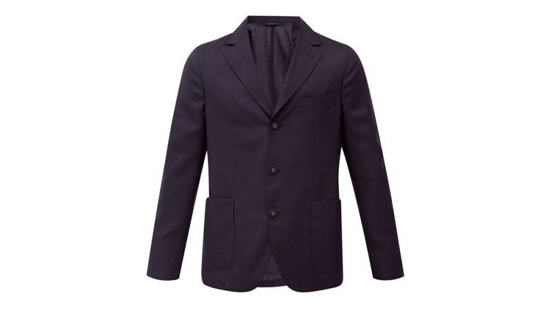 Officine Générale 'Armie' Wool Fresco Suit Jacket