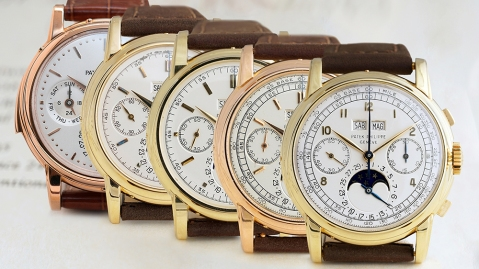 Phillips in Association with Bar & Russo will auction off five ultra-rare Patek Philippe watches this spring