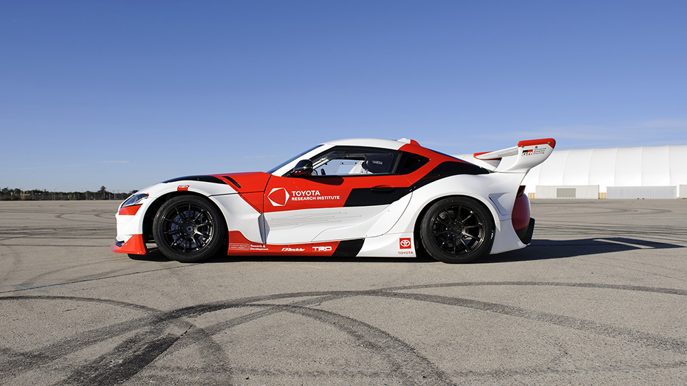 Toyota Research Institute and Stanford University's Dynamic Design Lab's self-driving Supra