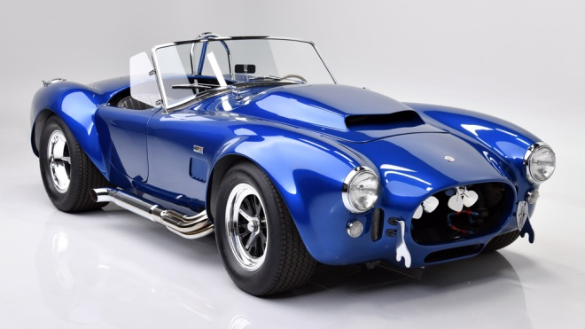 The 1966 Shelby Cobra 427 Super Snake once owned by Carroll Shelby himself.