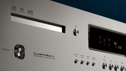 The Luxman D-10X CD player.