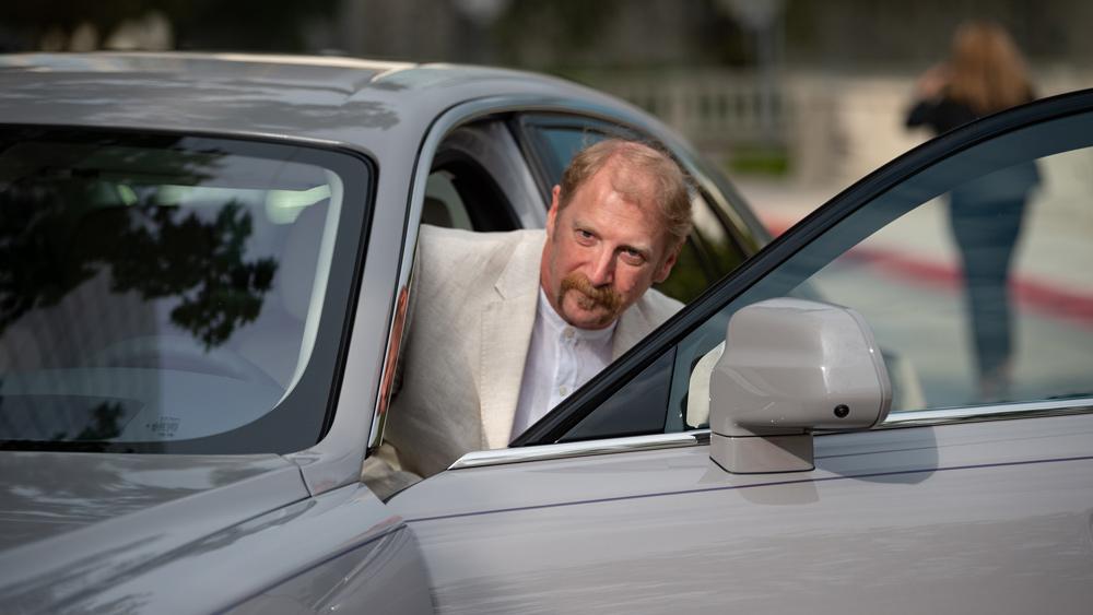 Automotive journalist and Emmy-winner Harvey Briggs.