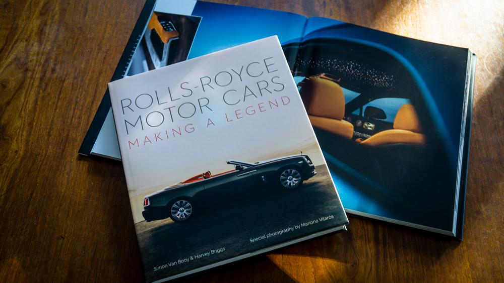 The book Rolls-Royce Motor Cars: Making a Legend.