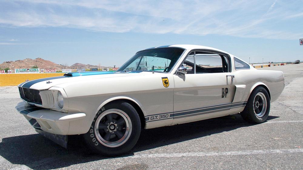 An Original Venice Crew 1965 Shelby G.T.350.