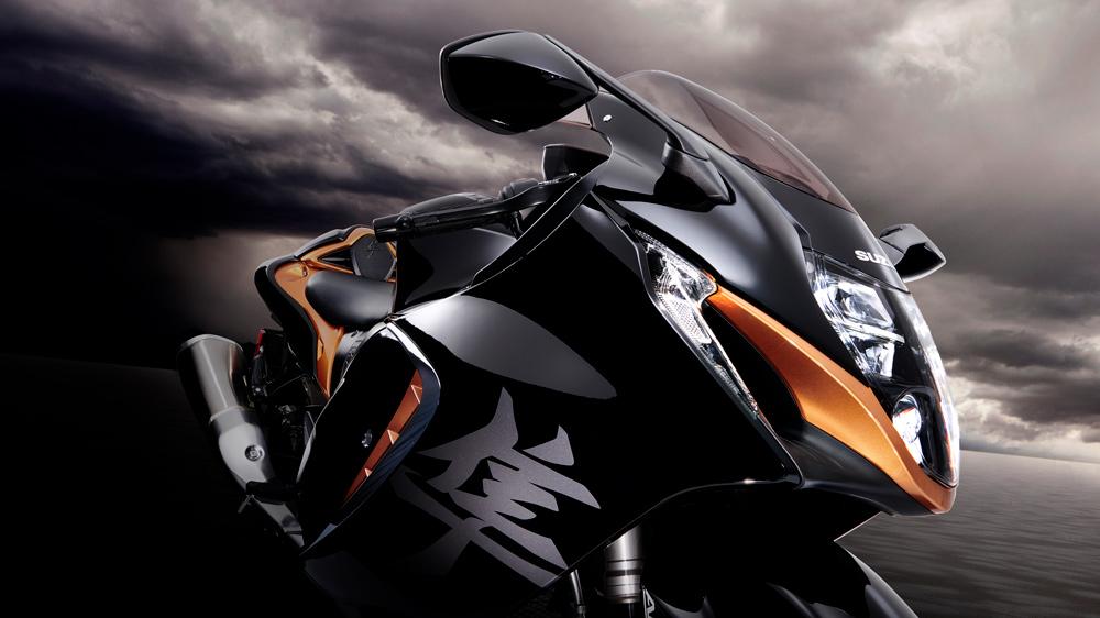 The 2022 Suzuki Hayabusa motorcycle.