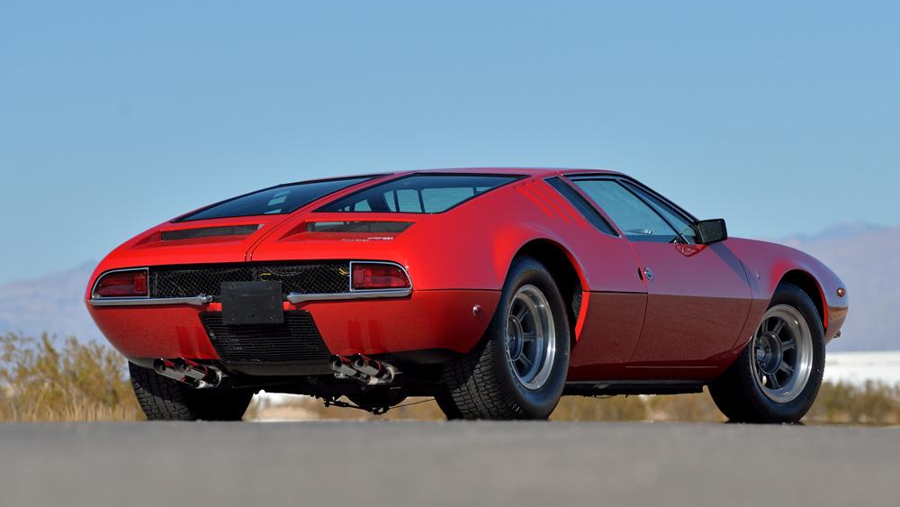 A 1970 De Tomaso Mangusta.