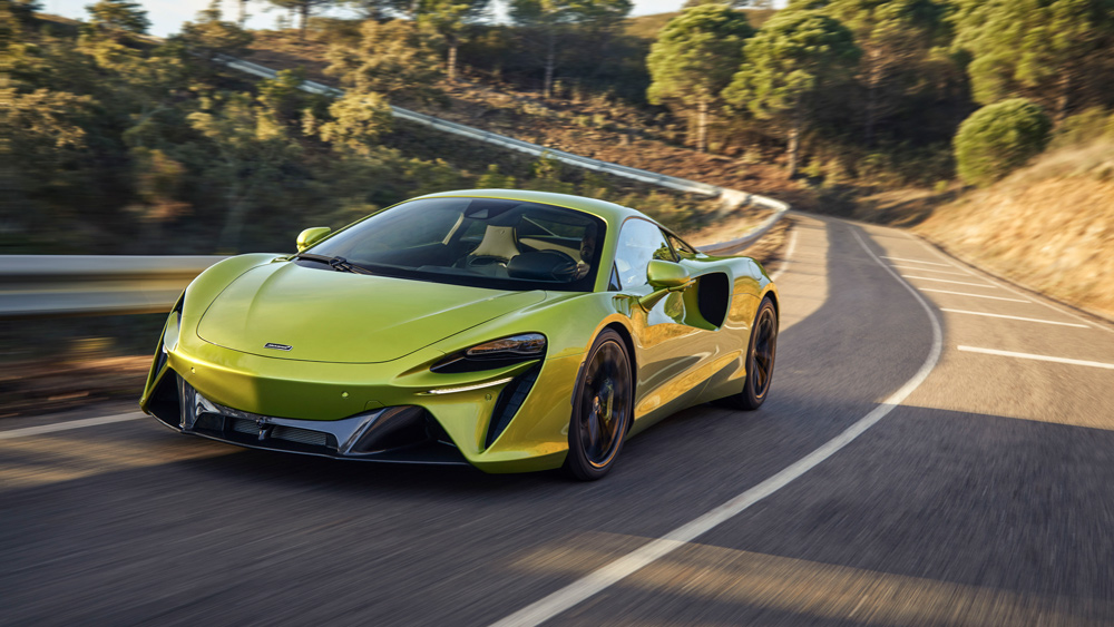 The McLaren Artura.