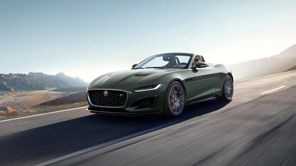 Jaguar's F-type Heritage 60 Edition.