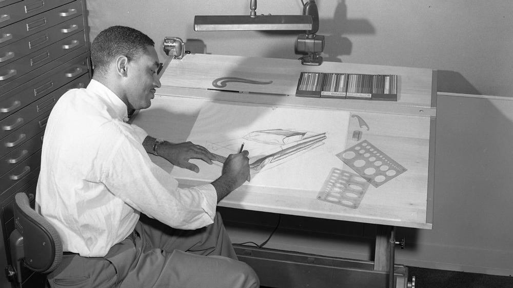 Automotive designer McKinley Thompson.