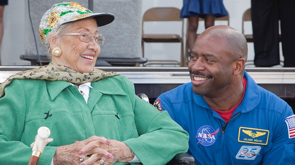 Mathematician Katherine Johnson helped make manned space flight possible