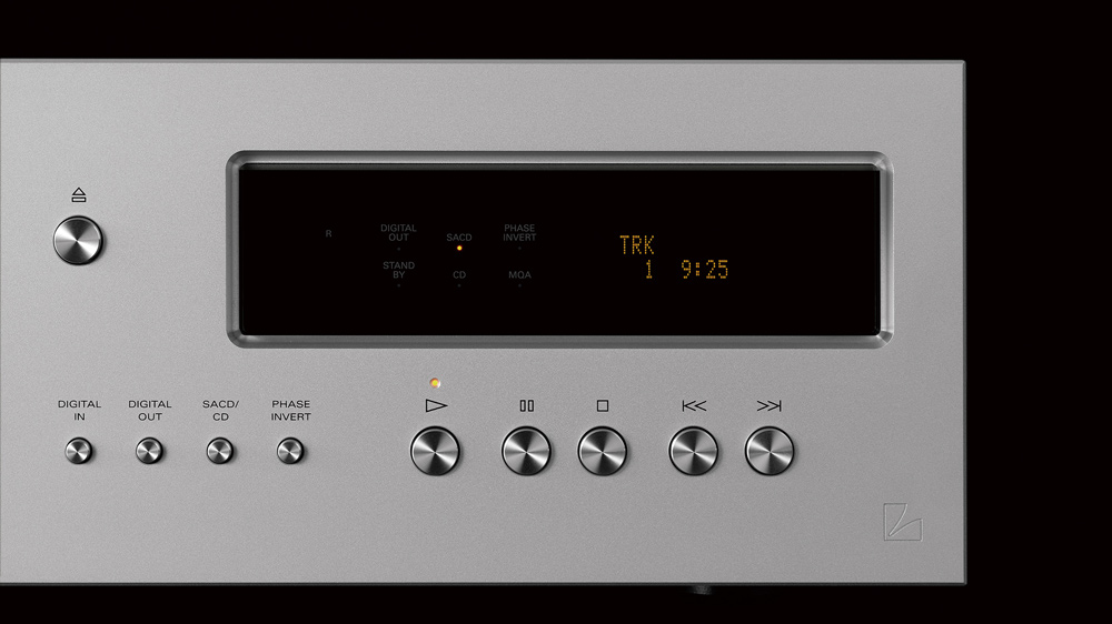 The Luxman D-10X CD player.
