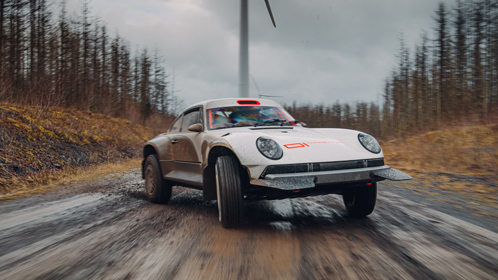 Singer Vehicle Design unveils All-Terrain Competition Study for the Porsche 911.