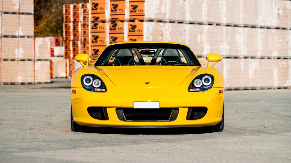 A 2004 Porsche Carrera GT.