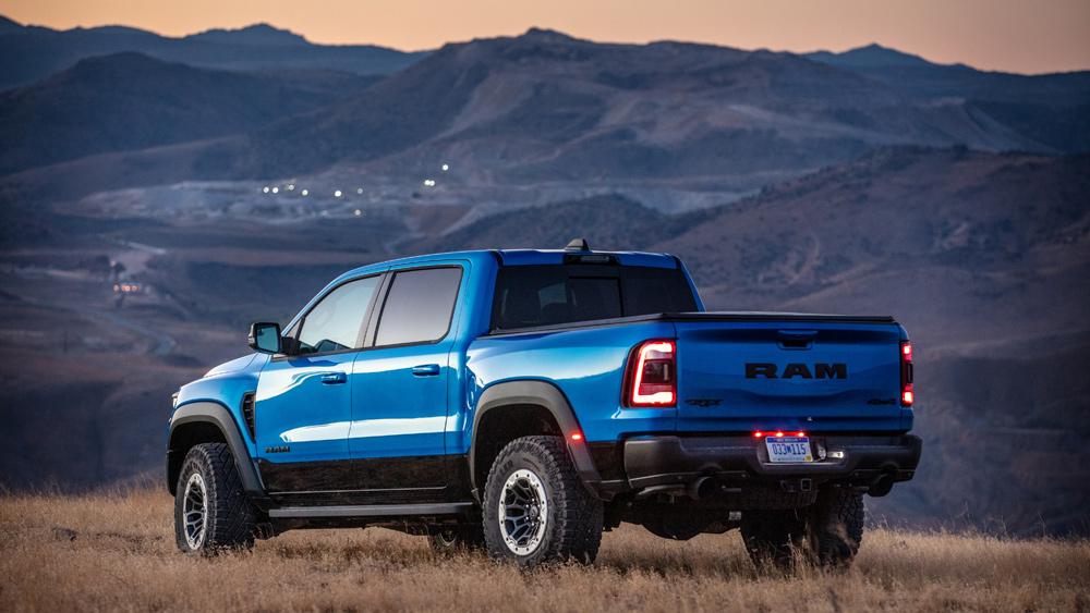 The 2021 Ram 1500 TRX.