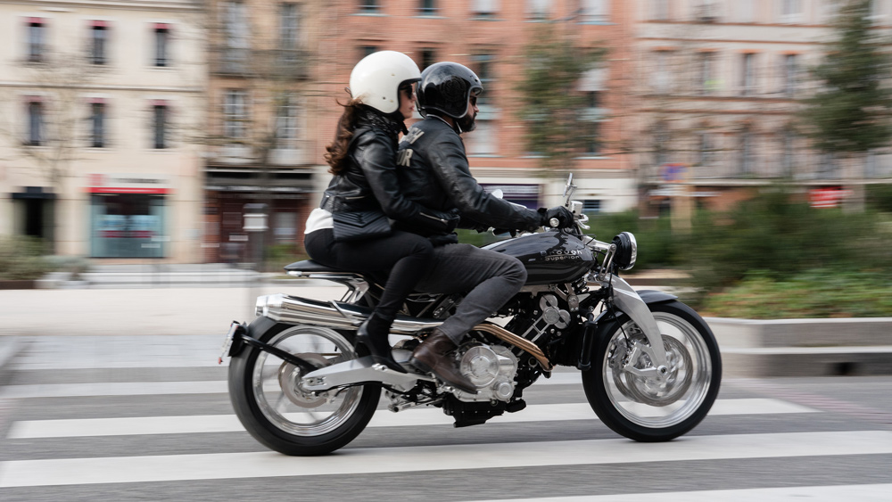 The Lawrence is Brough Superior's only two-seat motorcycle to date.