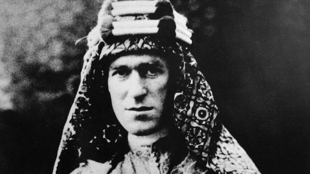 T.E. Lawrence, better known as Lawrence of Arabia, circa 1928.