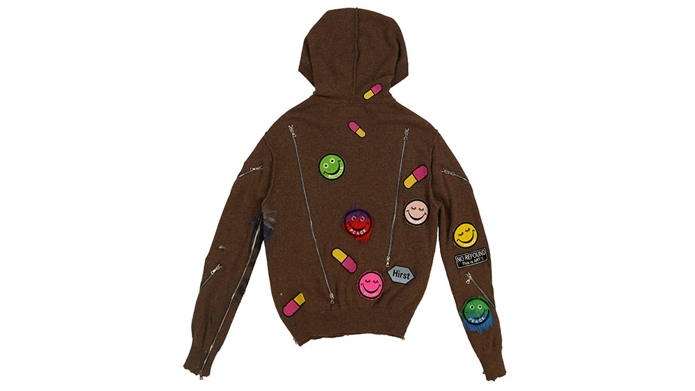 Okubo X Hirst Hooded Pill Sweater
