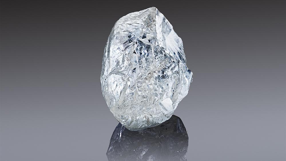 Alrosa 242-carat rough diamond