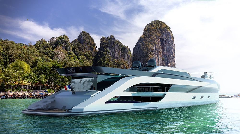 Boss Superyacht Concept