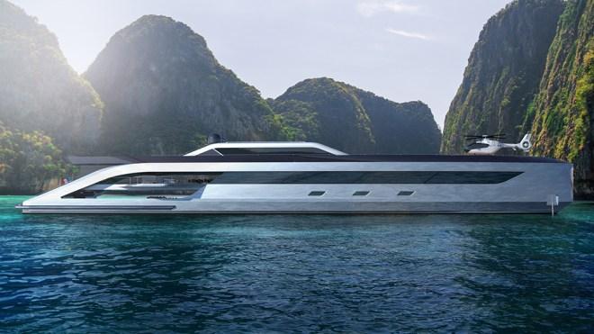 Boss Superyacht Concept