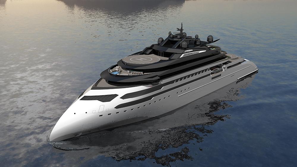 Ulstein CX127 Expedition Yacht