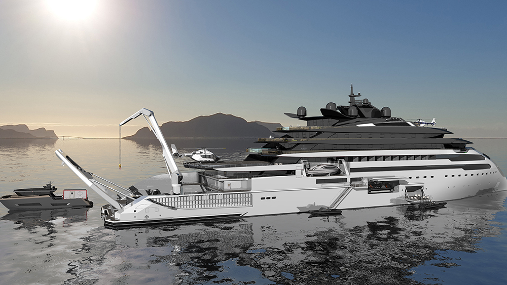 Ulstein CX127 Expedition Yacht