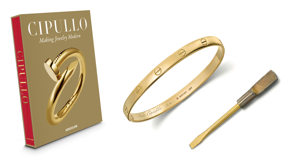 """""""Cipullo: Making Jewelry Modern""""; Cartier Love Bracelet"""