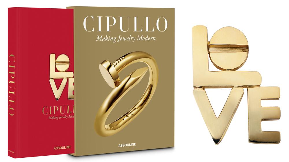 """Cipullo: Making Jewelry Modern""; Cartier Love Brooch"