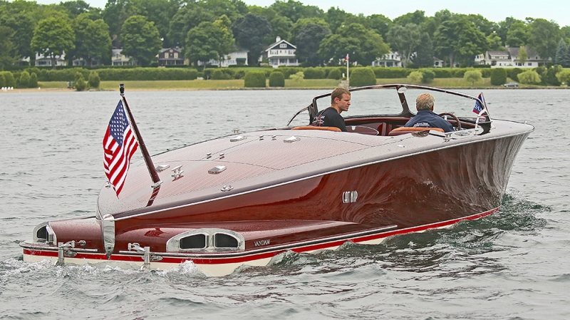 Catnip Van Dam Custom Boats