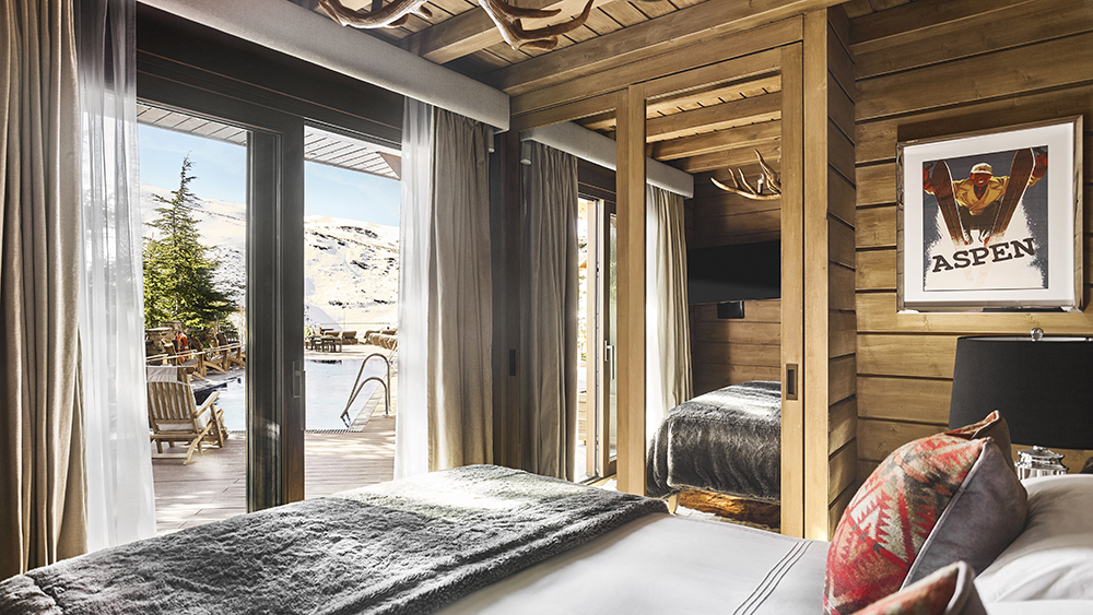 Marbella Club's El Lodge suite high in the Sierra Nevadas in Andalusia, Spain