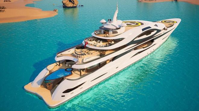 Gresham Gigayacht Concept Emir