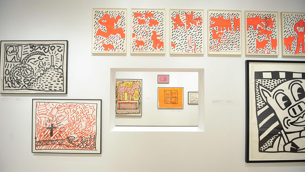 Atmosphere - March 14, 2012 - The Brooklyn Museum Hosts a Dinner Celebrating the Opening of the Special Exhibition KEITH HARING: 1978-1982 held at The Brooklyn Museum, NYC. Photo Credit: Ryan Mccune/PatrickMcMullan.com/Sipa USA
