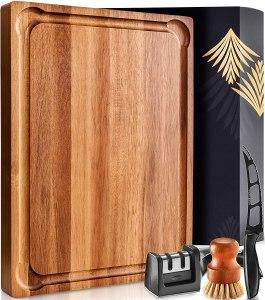 Home Hero Reversible Acacia Cutting Board