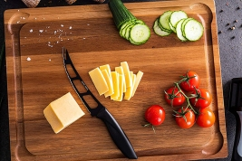 Home Hero Wooden Cutting Board