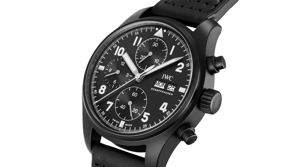 """IWC Pilot's Watch Chronograph Edition """"Tribute to 3705"""""""