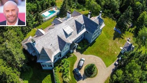 John Travolta Maine Mansion