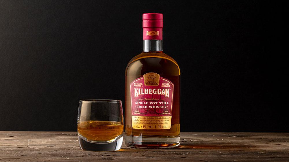Kilbeggan Sing Pot Still Irish Whiskey