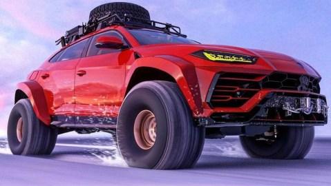 Lamborghini Urus Arctic Truck Concept