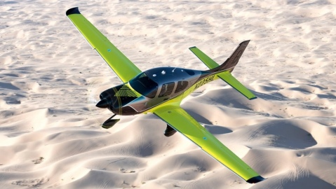 The Cirrus SR Limited Edition series will include eight custom aircraft delivered later this year.