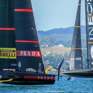 Team Luna Rossa Won the Prada Cup to go to the America's Cup