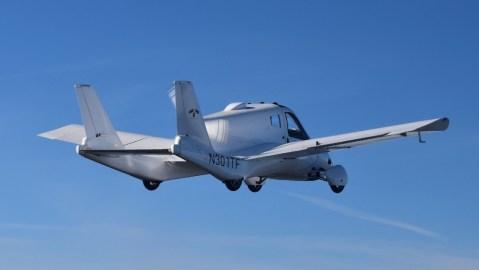 Terrfugia flying car gains air certification