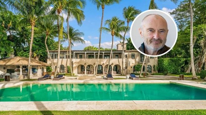 Phil Collins Miami Beach Mansion